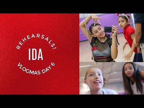 Rehearsals at IDA! VLOGMAS DAY 6