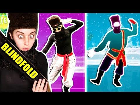 Dancing BLINDFOLDED   Rasputin (Just Dance 2018)