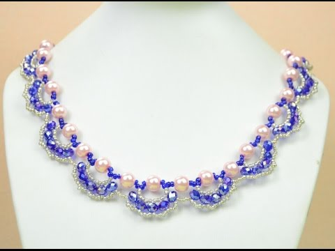 Download PandaHall Jewelry Making Tutorial Video---How To Make An Ornate Pearl And Crystal Necklace HD Mp4 3GP Video and MP3