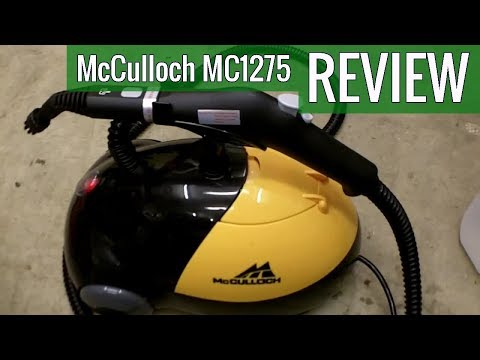 McCulloch MC1275 Heavy Duty Steam Cleaner with 18 Accessories 2019 review