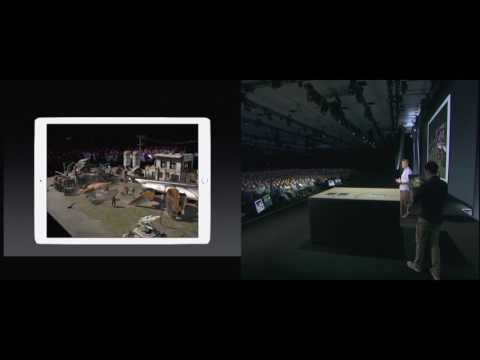 Wingnut AR Unreal Engine Demo on iOS | WWDC 2017