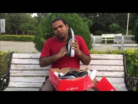 Puma black running shoe unboxing n review