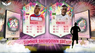SUMMER HEAT SHOWDOWN VINICIUS JUNIOR & MACHIS - SUMMER SHOWDOWN SBC BATTLE!!! FIFA 20 ULTIMATE TEAM