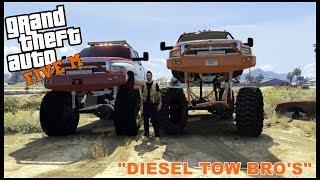 GTA 5 ROLEPLAY - DIESEL TOW BRO'S - EP. 86 - CIV