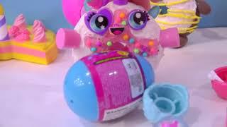 Glitzi Globes Surprise Eggs ! Water Glitter Toys - Cookie Swirl C Video