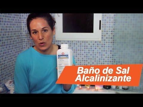 Baños Alcalinizante de Sal. Cómo prepararlo