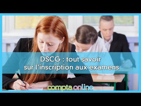 S'inscrire au DSCG pour la session 2021
