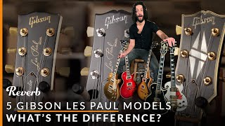 Gibson Les Paul Standard Vs Studio Vs Traditional And More: 5 LPs Explained  | Reverb