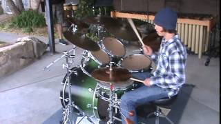 Jaymin on Drums - Shove by Angels & Airwaves