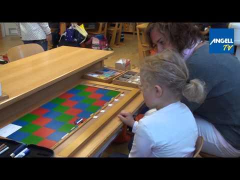 Kinder erklären Freiarbeit: Mathematik in der Montessori-Grundschule