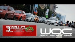 preview picture of video 'Wira Owners Club (WOC) | Putrajaya Autoshow, Convoy and Gathering (PACG) Siri 3'