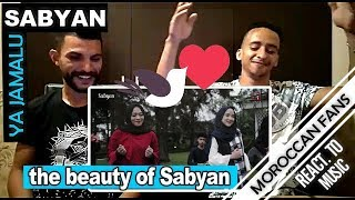 Arab React To | YA JAMALU Versi SABYAN Feat (Annisa & El Alice) (English Sub) || MOROCCAN REACT