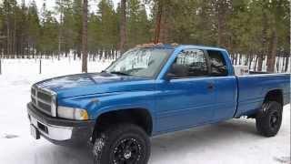 2000 Dodge Ram 2500 4x4 Cummins Turbo Diesel