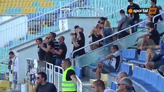 Феновете на Славия срещу Дунав