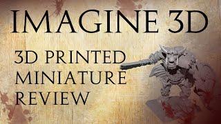 Imagine 3D: 3D Printed Miniatures Review