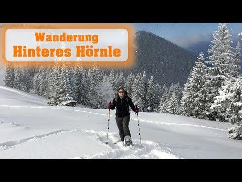 Schneeschuhwanderung aufs Hintere Hörnle