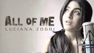 ALL OF ME   Cover Luciana Zogbi