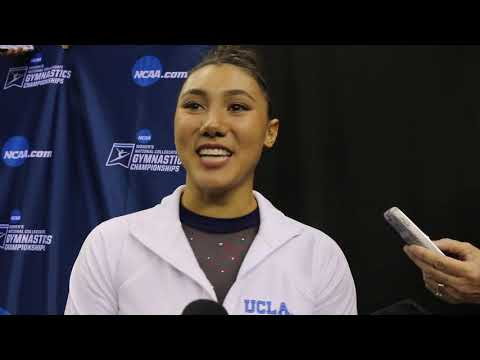 Interview: Kyla Ross, UCLA (Finals) - 2019 NCAA Gymnastics National Championships