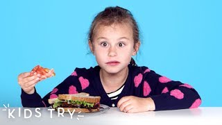 Kids Try Foods of the Future | Kids Try | HiHo Kids