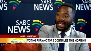 Analysis on ANC 54th National Conference as the voting process is underway