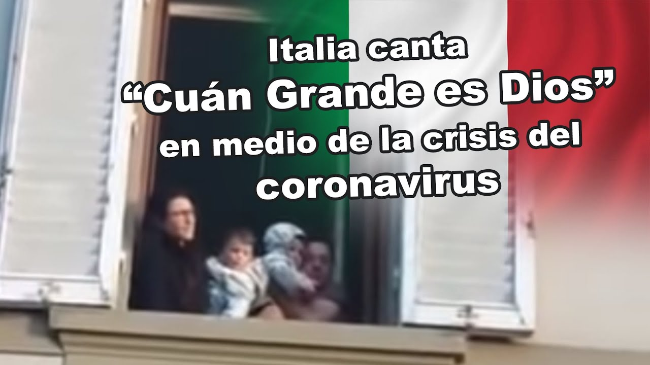 Video Shows Italian Family Praising God From Apartment Building Amid Quarantine: 'How Great Is Our God'