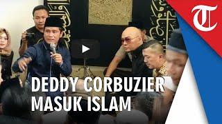 VIDEO Deddy Corbuzier Masuk Islam Baca Syahadat: Saya Tidak Dipaksa Sama Sekali