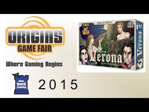 Origins Summer Preview: Council of Verona Collector's Edition