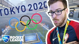 The first Rocket League Olympics