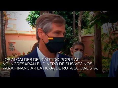 Los alcaldes del PP no ingresarán el dinero de sus vecinos para financiar la hoja de ruta socialista