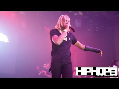 """Lil Durk Performs at His Sold out """"Dope Shows"""" Concert in Philly"""
