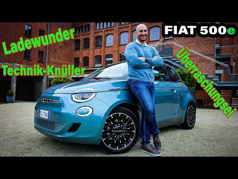 Der FIAT 500e - Ganz einfach: Ein ARSCHTRITT für die Konkurrenz!