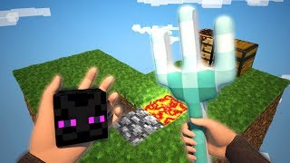 Realistic Sky Block Survival 2 - Minecraft Animation