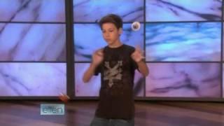 Yo-Yo Player Grant Johnson on Ellen 09/15/08