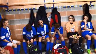 La sélection U15 Féminines en inside (Saint-Maximin)