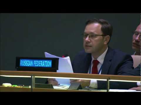 Выступление Г.Г.Лекарева на сессии Конференции государств-участников Конвенции о правах инвалидов
