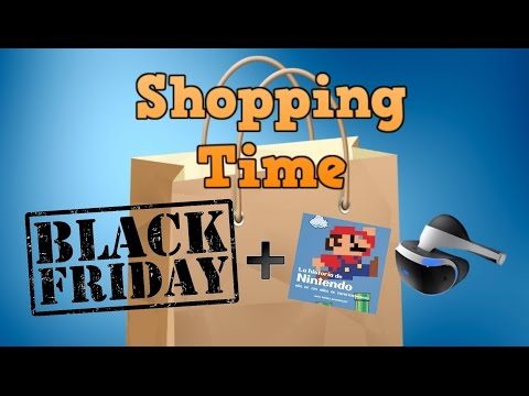 Shopping Time - Black Friday, Libros y VR
