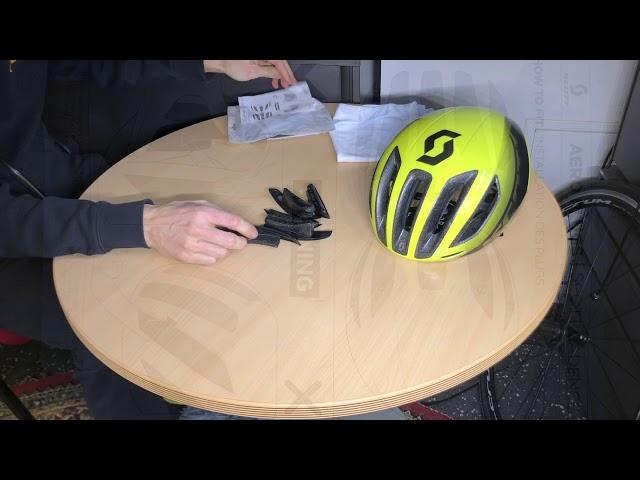 Видео Шлем Scott Cadence Plus черный