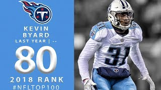 #80: Kevin Byard (S, Titans) | Top 100 Players of 2018 | NFL