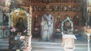 Predica PS Evloghie Sibianul hram Sf. Cuv. Parascheva, Valea Rosie 2018