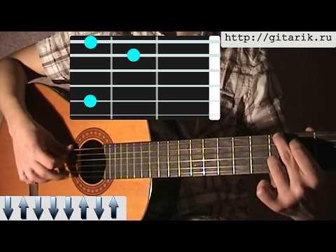 Валерий Залкин - Одинокая Ветка Сирени (Урок на гитаре)