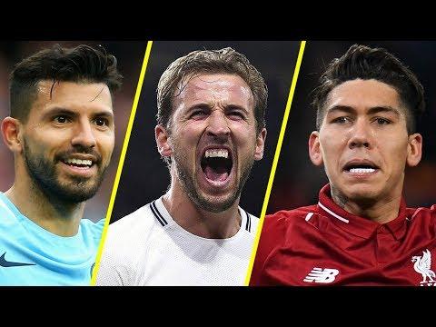 Best Football Premier League Strikers - Aguero VS Kane VS Firmino - Amazing Goals - 2019