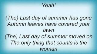 Kurt Nilsen - Last Day Of Summer Lyrics