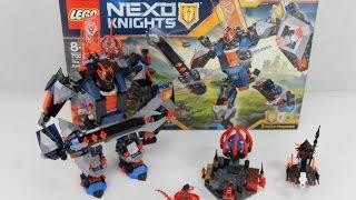 LEGO Nexo Knights Set 70326 The Black Knight Mech Review deutsch / german