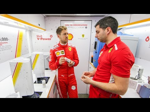 How Shell's Track Lab helps Ferrari on F1 weekends