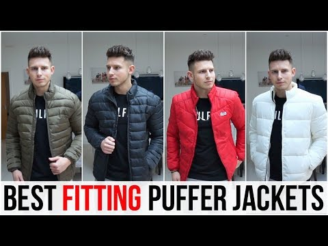 Best Fitting Puffer Jackets For Men In 2018 (Asos, Only & Sons, Jack & Jones + More)