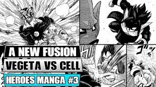 Gambar cover Dragon Ball Heroes Manga Chapter 3: A NEW Potara Fusion! Xeno Vegeta Vs Dark Star Perfect Cell