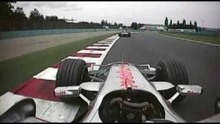2007 French GP- Alonso vs. Heidfeld pt.4