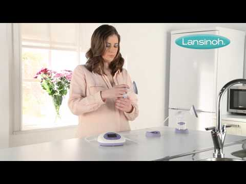 LANSINOH 2IN1 DOUBLE ELECTRIC BREAST PUMP EXPRESSING PUMP