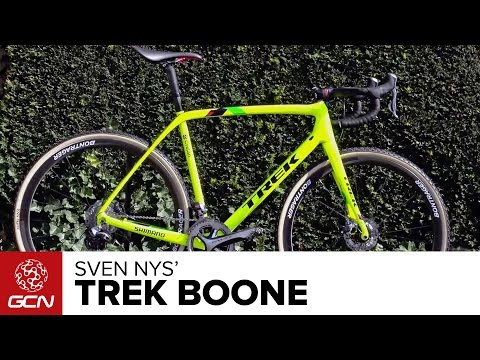 Sven Nys' Trek Boone Cyclocross Bike