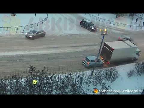Авария в г. Котельники 29.01.2018